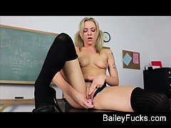 Naughty school girl solo
